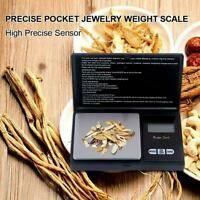 Digital kitchen Scale Jewelry Gold Balance Weight Gram Scales LCD O8I1
