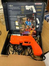 Time Crisis 2 PS2 Playstation 2 Game with Arcade Style Gun Namco