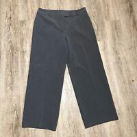 Josephine Chaus Women's Dress/Career Pants ~ Sz 14P ~ Gray ~ Straight