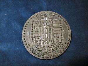 Medaille medal coin 1965  Syndicat National Medecins Omnipraticiens Congres Aix