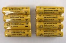 8-pcs1.2v AA (800mAh) Ni-Cd Rechargeable Battery For Solar Light