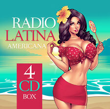 CD Radio Latina Americana von Various Artists 4CDs