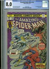 Amazing Spider-Man #143 - April, 1975 - CGC 8.0  (Kane / Romita cover)