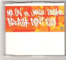 (FZ582) Mr On vs Jungle Brothers, Breathe Don't Stop - 2003 DJ CD