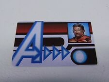 HEROCLIX MARVEL AVENGERS IRON MAN ID CARD PROMO L.E.  NEW!!! HC61