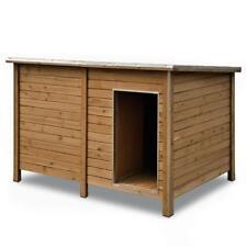 Hundehütte Hundehaus Hunde Haus Höhle Hütte isoliert Windfang Massivholz