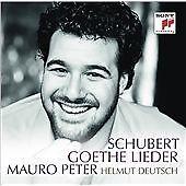 SCHUBERT: GOETHE LIEDER NEW CD