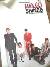 SHINEE [HELLO] 2nd Album Repackage Official Poster, Kpop,SM, LUCIFER, Vol.2