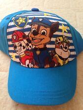 Paw Patrol Hat / Cap. Young Boy's Hat. One Size. Bnwt