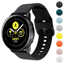 StrapsCo Silicone Rubber Watch Strap for Samsung Galaxy Watch Active, Gear Sport