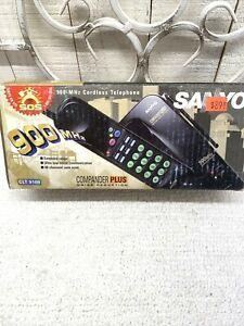 Vintage Brand New SANYO Cordless Telephone Campander Plus Phone and Base NIB NOS