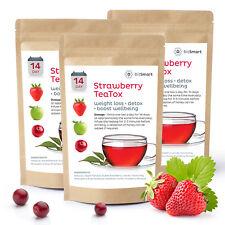 14 Day Teatox Weight Loss Tea Slimming Diet Burn Fat Detox Teabags Strawberry