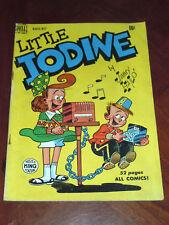LITTLE IODINE #1 (DELL 1950).  VG+ (4.5) cond. JIMMY HATLO CLASSIC!