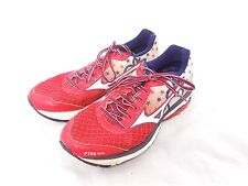 RARE! Mizuno Wave Rider 19 Peachtree RR Red White Blue Running Shoes Size 8.5