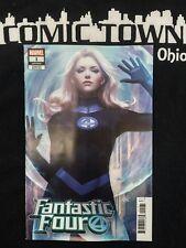 "Fantastic Four #1 Stanley ""Artgerm"" Lau Invisible Woman Variant Marvel 2018"