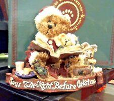 Boyd's Bear  Alexis Bearinsky Night Before Christmas Rare Gift Creation Concepts
