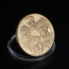 The Beatles Gold Commemorative Collectors Coins#