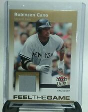 2007 FLEER ULTRA GAME JERSEY #FG-RC ROBINSON CANO