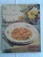 Das Knorr Kochbuch der deutschen Hausfrau, viele Rezepte und Tipps/Eigenwerbung