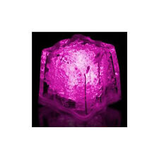 Pink Litecubes (24 Pack) Light Up LED Ice Cubes 2 Dozen
