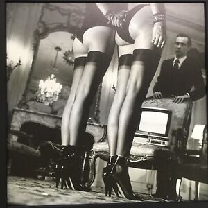 VINTAGE Helmut Newton Two Pairs Of Legs PARIS 1979 -12x12 FRAME READY MATTED