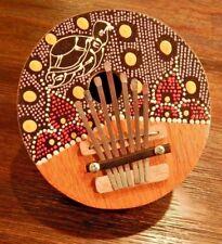 Turtle 7 Keys Kalimba Mbira Colorful Karimba African Handmade of Coconut Shell