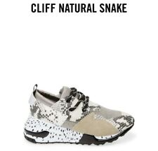 New ListingSteve Madden Cliff Natural Snake Sneakers Size 9 (Pre-Owned)