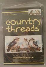 Kookaburra Line-uo Cross Stitch Kit by Country Threads 20 x 44cm
