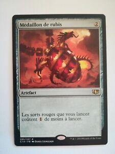 Médaillon de rubis - Commander - Rare - VF/FR -
