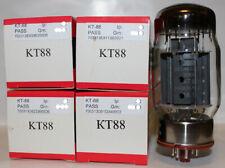 Factory Platinum Matched Quad Svetlana KT88 Tubes, Brand NEW in Box !