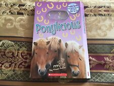 Ponylicious Scholastic Book Hardcover Ages 6+