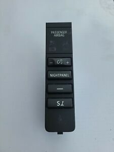 2007-2011 Saab 9-3 Dash Night Panel Dimmer Control Switch Button 12770841 OEM