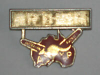 A Rare Vintage 70's Australian Pacific Touring Tours Name Tag Pin Badge