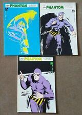 The Phantom Comics #1 2 3 Pioneer Press blue cover RARE OOP Lee Falk