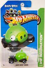 Hot Wheels #35 Angry Birds Minion 1/64