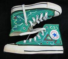 Vtg Converse Made in Usa Green High Top Sneakers Chuck Taylor Men 4.5 women 6.5