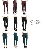 ⭐ NWT JESSICA SIMPSON WOMEN'S SUPER SKINNY MID RISE COATED JEANS - VARIETY ⭐