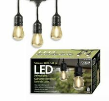 FEIT Electric LED String Lights 14.6 M 48 Feet Uses Only 24 Watts M73D-E