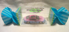 "Hot Wheels CUSTOM BENTLEY ""Hello Kitty"" Real Riders in Display Case!!!"