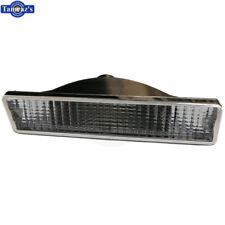 81-86 Cutlass Front Bumper Parking Marker Turn Light Lamp Lens CLEAR Repro RIGHT