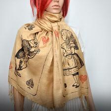 Alice in wonderland scarf/shawl