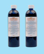 2x Salon Sterilising Disinfectant Solution Germicide 500ml 473 for Barbicide jar