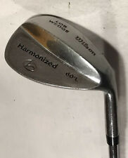 Wilson Harmonized Lob Wedge 60° Right Hand Wedge Flex Steel Shaft 👍