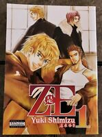 ZE Volume 1 by Yuki Shimizu | English Yaoi Manga | 801 Media 2009
