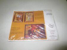 "1983 Creative Circle GOLDEN AUTUMN Cross Stitch SEALED Kit #328  - 12"" x 16"""