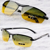 Day And Night Vision Men's Polarized Glasses Driving Sunglasses Fashion Eyewear
