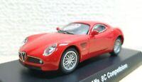 1/64 Kyosho Alfa Romeo 8C COMPETIZIONE RED diecast car model