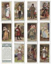 WILLS - ENGLISH PERIOD COSTUMES - 12/50 - 1929
