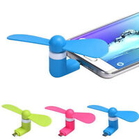1x Lighting Portable Cool Cooling Mini Fan Cooler For Android Galaxy LG HTC ZTE