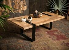 Solid Wood Rectangular Industrial Tables